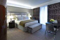 Bulgari hotel bedroom