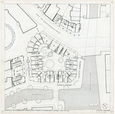 Pentagon Housing. Theo Bosch.Aldo van Eyck