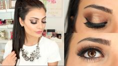 Date Night Makeup Tutorial 2015 (Ft. Smashbox Double Exposure Palette) |...