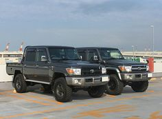 Land Cruiser Pick Up, Land Cruiser 70 Series, Toyota Land Cruiser, Toyota Lc, Toyota Cars, Toyota Vehicles, Best 4x4, Trd, Japanese Cars