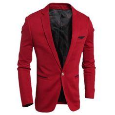 Blazer Men Korean Style Fashion Business Casual Men Blazer Slim Fit Wedding a Button Men Suits Business Casual Men, Men Casual, Men Blazer, Cheap Suits, Gear Best, Blazers For Men, Mens Suits, Korean Fashion, Style