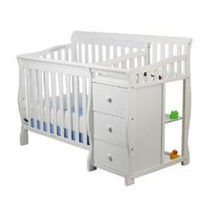 #ZoostoresPIN2WIN Dream On Me Jayden Crib with Changer!