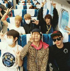 Can I please be on this plane!? I'll never understand how others aren't freaking out~ #beast #b2st