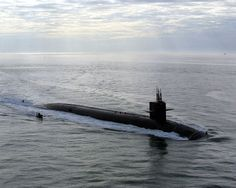 Norfolk, Va. (Dec. 19, 2002) -- USS Florida (SSBN 728) makes its way to its new homeport at Naval Station Norfolk. Florida is one of four Ohio-class submarines on the list to be converted to conventional-weapons. U.S. Navy photo by Journalist 3rd Class B.L. Keller. (RELEASED)
