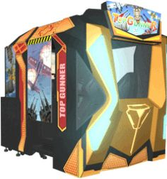 Top Gunner 4D Air Series Motion Simulator Video Arcade Game | From Injoy Motion |   Get more information about this game at: http://www.bmigaming.com/games-catalog-injoy-motion.htm