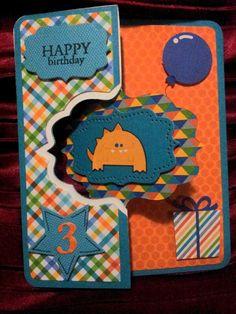 Flip it birthday card
