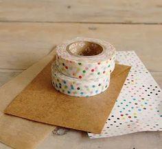 washi tape estampado lunares Polka Dots print pattern miraquechulo