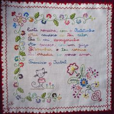 ??????????????????????????????? Needlework, Notebook, Bullet Journal, Embroidery, Creative, Portugal, Blog, Handmade, Portuguese