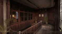 ArtStation - The Order 1886: Black Wall Yards offices, Nestor Carpintero