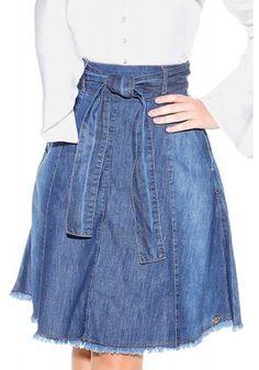 Denim Attire, Denim Skirt Outfits, Jeans Dress, Stylish Dresses, Casual Dresses, Jeans Refashion, Denim Corset, Cute Skirts, Plus Size Outfits