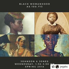Spring 2018 ( ・・・ Spring Black Womanhood Jessica Marie Johnson and Martha Jones What does a usable history of black womanhood (black queer and trans. Women In History, Black History, Martha Jones, History Articles, Johns Hopkins University, African Diaspora, African American History, Weird Facts, Higher Education