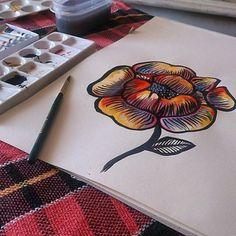 "Tatuagem feita por <a href=""http://instagram.com/gustavorocha_"">@gustavorocha_</a>"