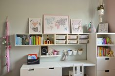 Baby Room Design, Girl Bedroom Designs, Baby Room Decor, Girls Bedroom, Childrens Desk, Girl Room, Room Inspiration, Ikea Kids Room, Service