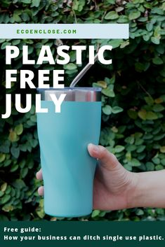 Looking for ways to ditch single use plastic? Take the challenge! This guide outlines how you can eliminate or reduce your plastic use. It contains instructions on how to kick off the initiative, how to do a plastic audit, and how to execute your plan. Plastic Free July, Outlines, Sustainability, Eco Friendly, Challenges, Green, Life, Sustainable Development