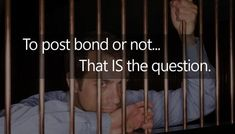 Should I bail someone out of jail in Cobb County, GA? Maybe not!