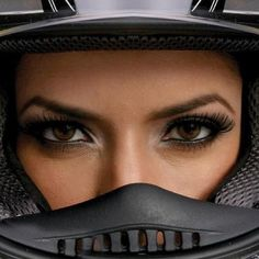 Really cool picture. Senior pics..... In softball helment