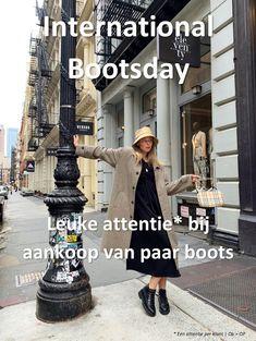 A.s. maandag = International Bootsday 🤩! We geven op deze speciale dag een ode aan de boots 👢. De sneaker steeds populairder? Nou, de boots vergeten we zeker niet. Koop jij op deze bijzondere Bootsday in Terneuzen, Hulst of Goes boots 👉 4/11? Dan krijg jij er een klein cadeautje bij 🎁.  . #internationalbootsday #desplenterschoenen #hulst #terneuzen #goes #shoplocal #localshopping #boots News