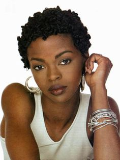 Lauryn Hill's short, knotty hair. http://beautyeditor.ca/2013/09/26/short-hairstyles-for-black-women