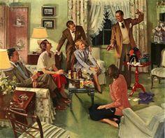 John Gannam(1907-1965)   —  (1030x862)