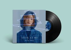 edit, vinyl, lp, album cover design, random
