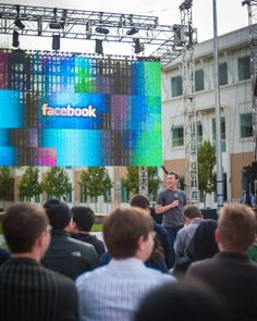 Mark Zuckerberg before the IPO - Facebook 31st Hackathon. http://greatpreneurs.com/facebook-hackathon-before-ipo-pictures/