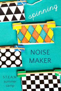 Spinning Noise Maker (Science of Sound)