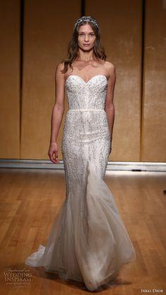 inbal dror 2017 bridal strapless sweetheart neckline heavily embellished bodice beautiful elegant trumpet wedding dress sweep train (023) mv