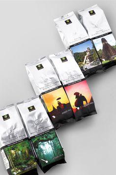 IKI Gourmet Coffee. Created by agency ALL CAPS. Designer: Edvinas Kirvaitis. Copywriter: Laima Lazauskaitė. Lithuania.