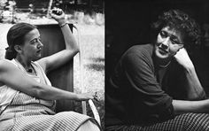 Avis Devoto left and Julia Child right