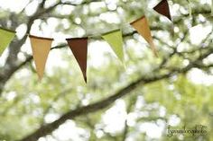 Bunting outside