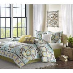 Master bedding ideas:  Madison Park Bali 7-piece Comforter Set | Overstock.com Shopping - The Best Deals on Comforter Sets