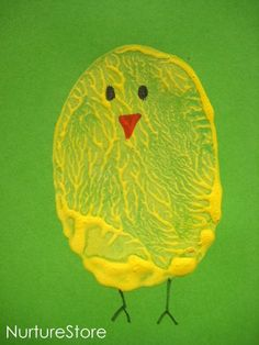 Craft activities for children :: Easter potato printing - NurtureStore