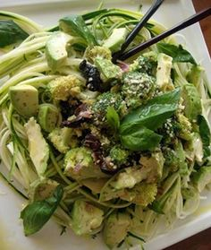Mediterranean Broccoli Salad - 5 Delicious Raw Food Recipes - Shape Magazine