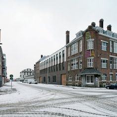 view Cadixstraat, extension monumental building