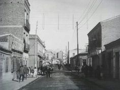 Avenida Monte Igueldo Foto Madrid, Street View, San, City, Twitter, Google, Vintage, Black, War