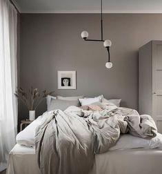 Dream Bedroom, Home Bedroom, Modern Bedroom, Bedroom Rustic, Bedrooms, Home Interior, Interior Design, Blue Bedroom Decor, Minimalist Bedroom