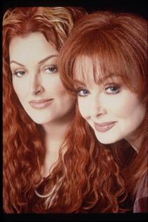 I like very few country singers but I love the Naomi and Wynona - the Judds