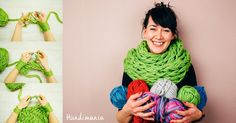 Arm knitting is a lesser-known knitting technique, yet it can save you a lot of time and trouble – especially if you are just starting out in the art of knitting! If you are tired of knitting caps and gloves and you feel a bit daring and adventurous this time, then the Infinity scarf tutorial …
