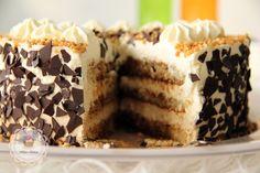 Kaffee Marzipan Torte