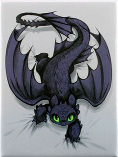 How to Train Your Dragon Toothless on the Prowl Magnet Arte Disney, Disney Art, Toothless Tattoo, Toothless Drawing, Toothless And Stitch, Baby Toothless, Night Fury, Dragon Art, How To Train Your Dragon