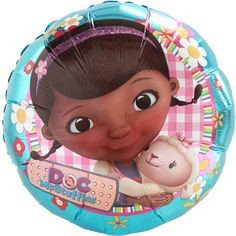 Doc McStuffins Foil Balloon at Birthday Direct