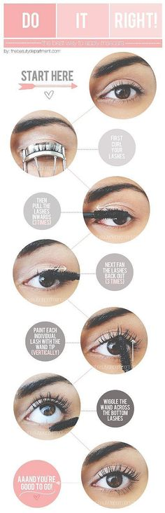 Apply Mascara Perfectly Check this Gigs : https://www.fiverr.com/facebookprogig/pin-15-of-your-image-or-repin-15-pins-to-targeted-pinterest-group-boards Eyebrow Makeup Tips