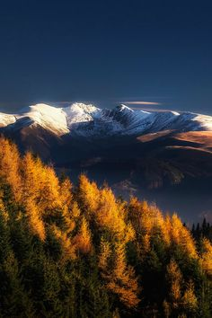 favorite-season: Autumn in Fagaras mountains by Cezar Machidon Beautifull Colors