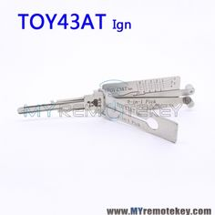 LISHI TOY43AT Ign 2 in 1 Auto Pick and Decoder For Toyota