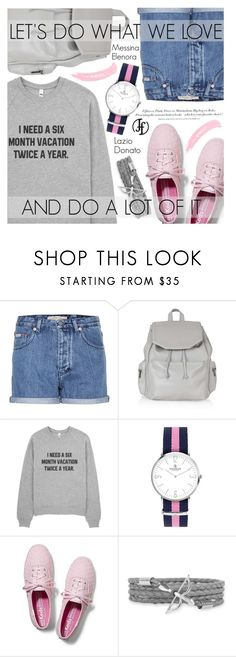 """Street Style"" by pokadoll ❤ liked on Polyvore featuring Calvin Klein Jeans, H&M, Topshop, Keds and francoflorenzi"