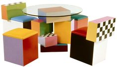 Ettore Sottsass. The best. KAGADATO selection. **************************************Memphis Group #memphis #design #table