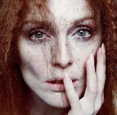 The Fairest of Them All  :| Julianne Moore by Inez and Vinoodh for The New York Times T Style Spring 2013