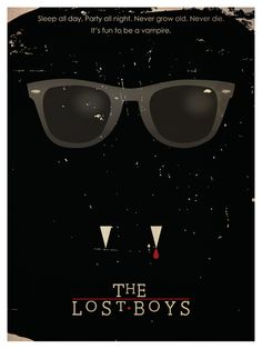 The Lost Boys - minimal movie poster