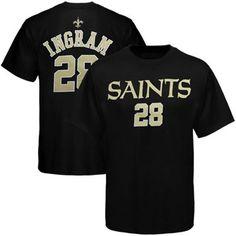 skylerMark Ingram New Orleans Saints Youth Primary Gear T-Shirt - Black