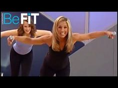 Body Burn Dance & Pilates: Standing Pilates Workout - some weights but a good mix - 10minutes